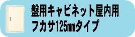 盤用キャビネット屋内用フカサ125mmタイプ